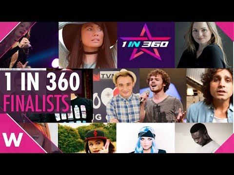 San Marino: 1 in 360 Finalists (REACTION)