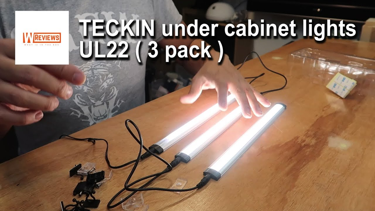 Teckin Under Cabinet Led Lights Strip Review Uk