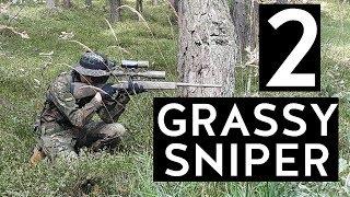 Airsoft Sniper Gameplay - Grassy Sniper 2