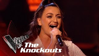 Christina Ellinas' 'Pretty Hurts' | The Knockouts | The Voice UK 2019