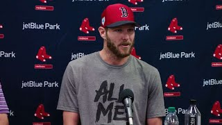 Chris Sale agress to contract extension with Red Sox