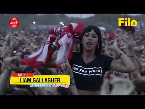Liam Gallagher - Lollapalooza Argentina, March 17, 2018 (Full)