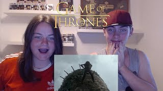 """Game of Thrones 1x1 Reaction """"Winter is Coming"""" (w/Sister) (Part 2)"""