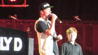 Brian Littrell Introducing His Son Baylee As Surprise Opening Act For Backstreet Boys Part 2