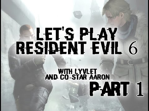 Let's play Resident Evil 6 - Part 1 (Sherry/Jake Campaign)