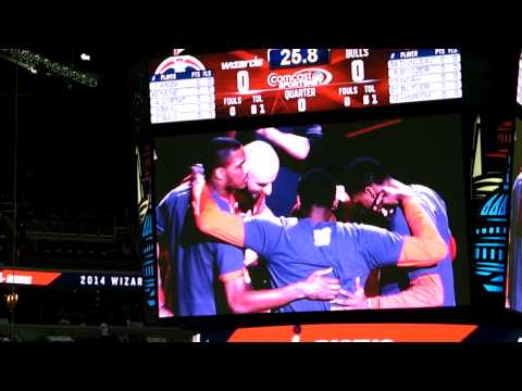 Pregame Video - Chicago Bulls @ Washington Wizards - Playoffs 2014