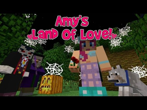 Amy's Land Of Love! Ep.115 Fright Night! | Halloween Special! | Minecraft | Amy Lee33