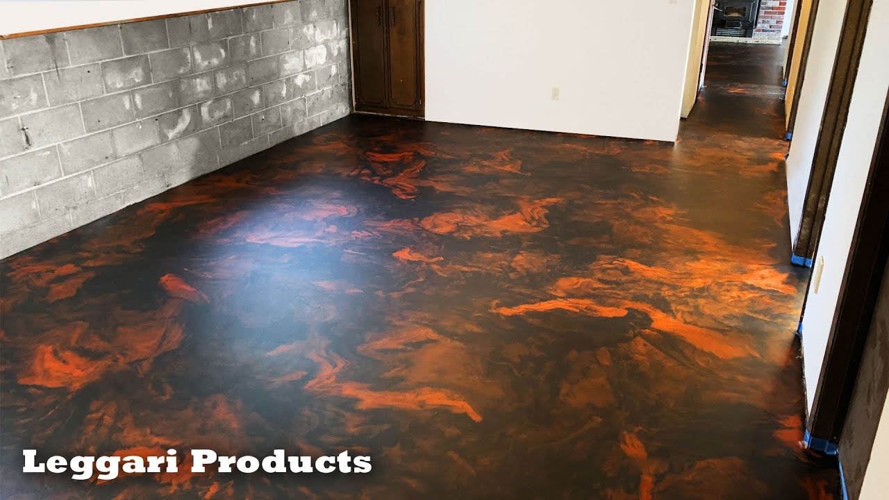 Epoxy Floor Installation Over Old