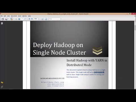 Installation of Apache Hadoop 2.x or Cloudera CDH5 on Ubuntu | Hadoop Practical Demo