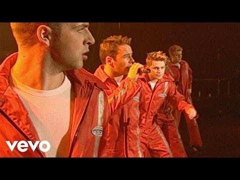 Westlife - Uptown Girl (Top of the Pops 2001)