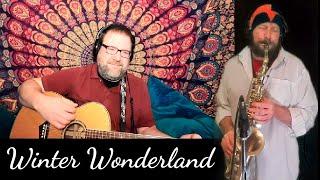 Bing Crosby🇨🇦🎷🇺🇸Winter Wonder Land Cover (Matthew's Music Lesson Studio) Saxophone Collaboration