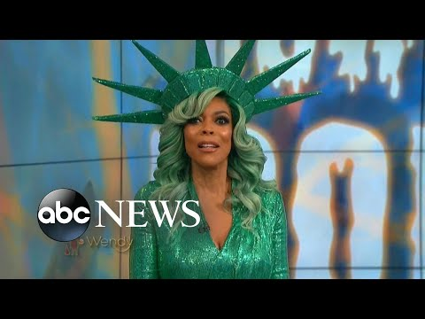 Wendy Williams faints on live TV after overheating