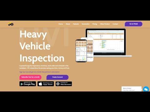 Heavy Vehicle Inspection Maintenance - DEMO (HVI Cloud Platform)