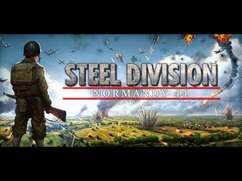 10v10 on Colombelles - Steel Division: Normandy 44 - 21. Panzer Rommels Zirkus - Gameplay #1 |