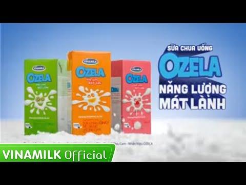 """Quảng cáo Vinamilk cho bé – Sữa chua uống OZELA  """"Nạp ngay năng lượng mát lành"""""""