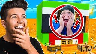 7 Ways to Prank UNSPEAKABLE's Minecraft House!