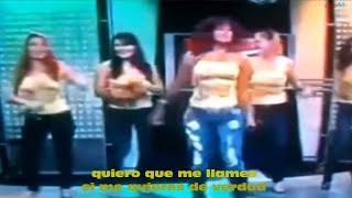 ME VOY A EMBORRACHAR (con letra) Las Chicas Dulces