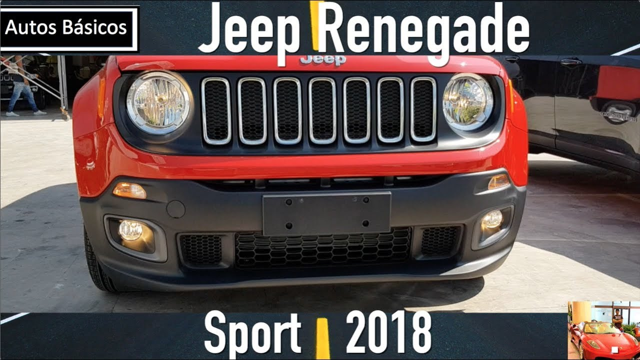 jeep renegade 2018 version basica youtube. Black Bedroom Furniture Sets. Home Design Ideas