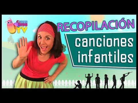 ♫♪ CANCIONES INFANTILES ♫♪ Cinco Lobitos, Cucú Cantaba La rana y muchas más