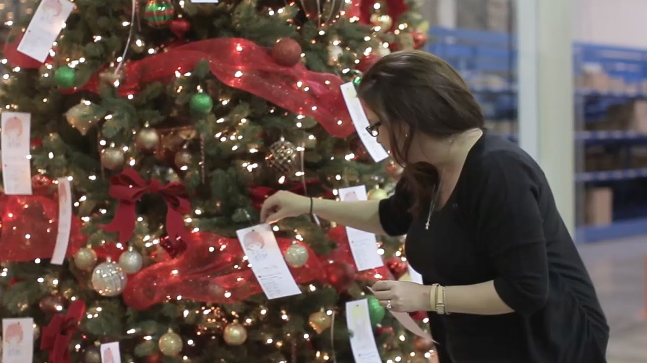 Angel Tree Program Works Christmas Magic | Salvation Army - YouTube