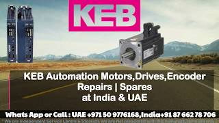 KEB Servo motor Repairs india | UAE- Dubai, Resolver Encoder Replace Align Adjust How