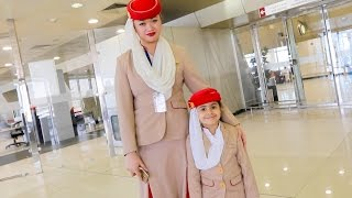 THE YOUNGEST FLIGHT ATTENDANT