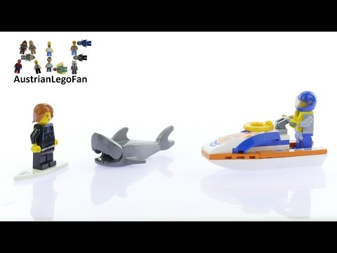 Lego City 60011 Surfer Rescue - Lego Speed Build Review