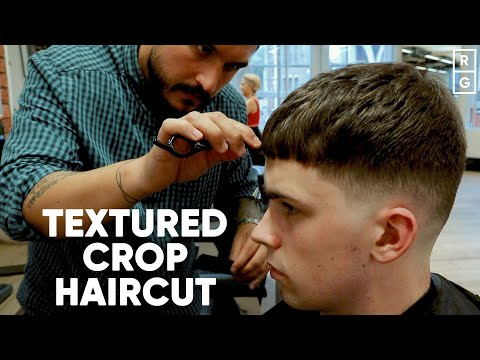 textured-crop-top-haircut-with-low-skin-fade-for-summer-2019- -skater-haircut
