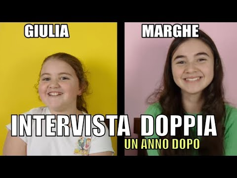 INTERVISTA DOPPIA  *2019*   MARGHE GIULIA KAWAII