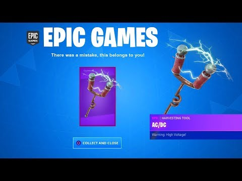 The FREE PICKAXE In Fortnite (NEW)