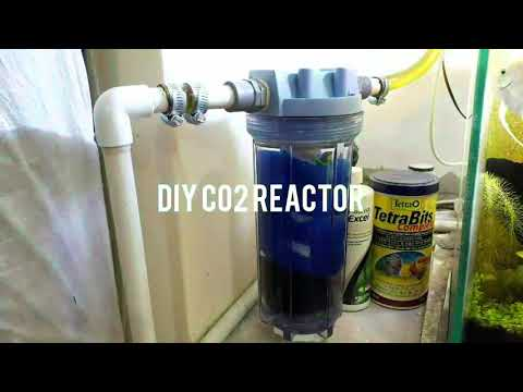 DIY Co2 Reactor Explained In Detail In #urdu #hindi