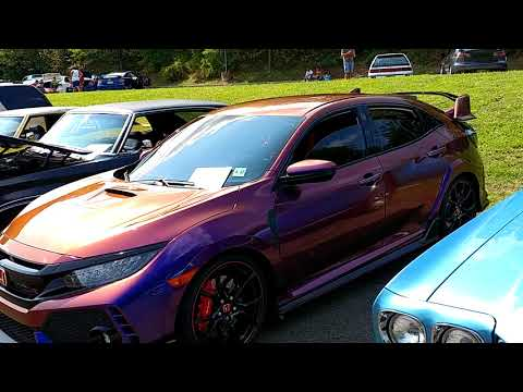 2017 PURPLE HAZE ZTU HYPERSHIFT WRAPPED HONDA CIVIC TYPE R