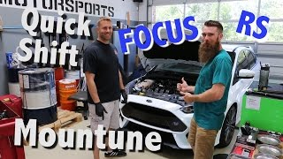 Mountune Quick Shift Install Ford Focus RS