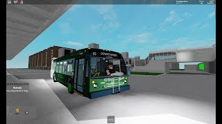 "Tobes Transportation Authority (Roblox) 2019 Novabus LFS ""Suburban"" 1990 Rt. 93 Downtowner"
