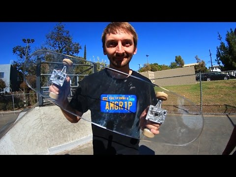 Thumbnail: BULLET PROOF GLASS SKATEBOARD! | YOU MAKE IT WE SKATE IT EP 39