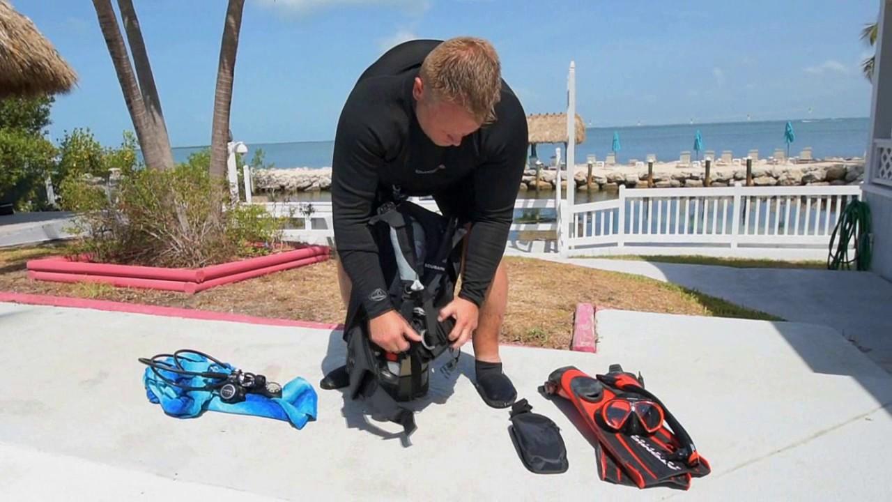 Scuba skills how to disassemble a scuba tank unit youtube - Dive training magazine ...