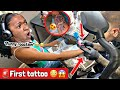 Gambar cover GETTING FIRST TATTOO 🚨😱 **Only 16 years old😳MUST SEE😭 Funny Reaction 😂