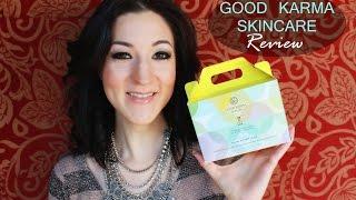 Good Karma Skincare Review Thumbnail