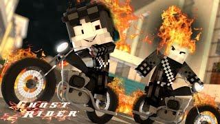 Minecraft: WHO'S YOUR DADDY? - O BEBÊ DO MOTOQUEIRO FANTASMA ( Baby Ghost Rider )