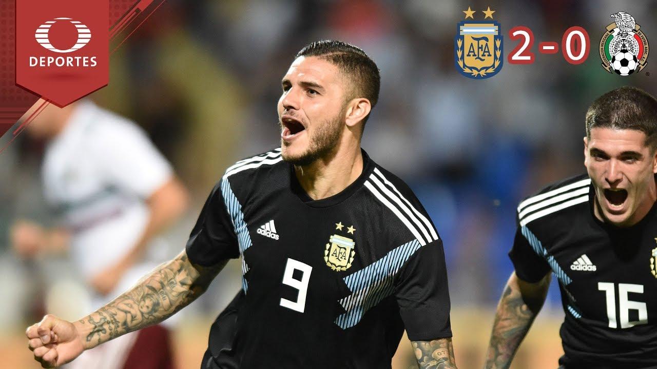 Download Argentina repite la dosis | Argentina 2 - 0 México | Partido Amistoso - Televisa Deportes