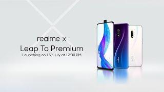 realme X | Launch Event