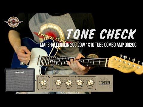 """TONE CHECK: Marshall Origin 5C ORI5C 5-watt 1x8"""" Tube Combo Amp Demo"""