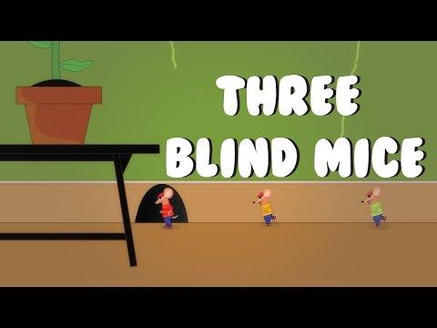 Nursery Rhymes for Kids with Lyrics - Three Blind Mice