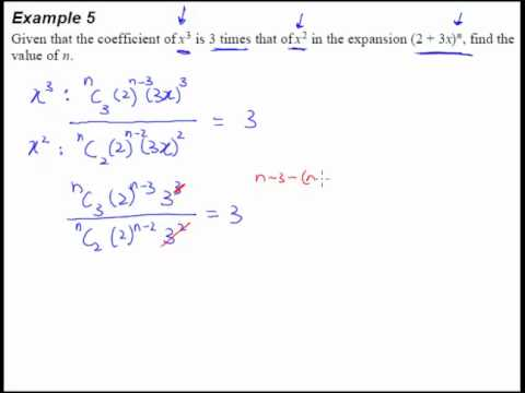 10 Binomial Theorem Example 5 Challenging Question With Power