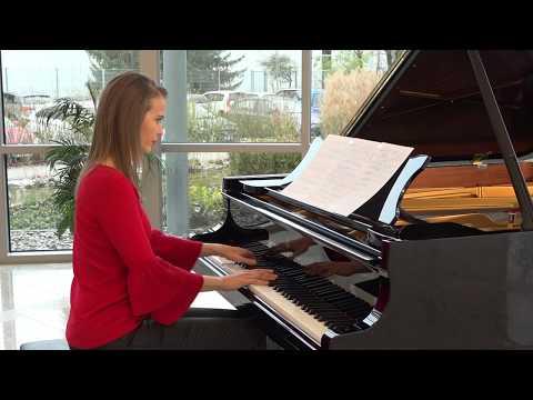 """Anna Sutyagina plays Nocturne """"Beloved"""" by Vladimir Titov"""