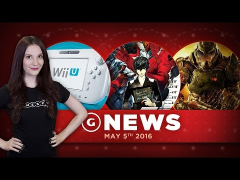 """Persona 5 Release Date & GameStop CEO Calls Wii U """"Disappointing"""" - GS Daily News"""