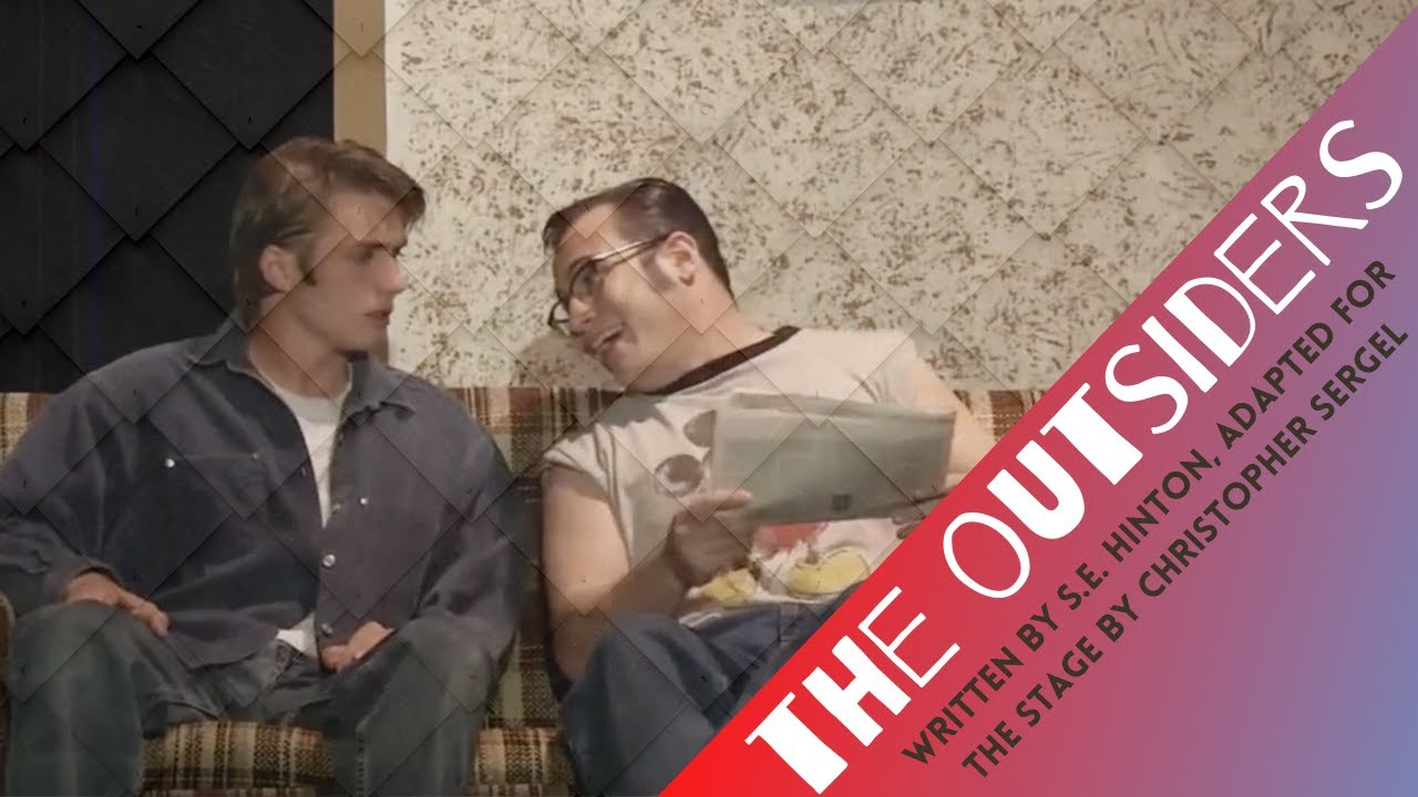 the outsiders  2014   ponyboy  u0026 two-bit