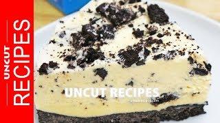 ☑️ 3-Ingredient Oreo Ice Cream Cake Recipe | Uncut Recipes