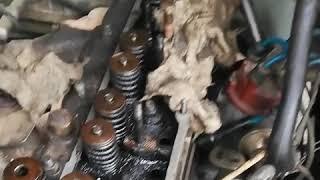 замена сальников клапанов на газени  без снятия головки