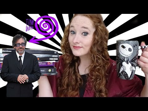 Tim Burton Books and Mug Haul! | Amy McLean